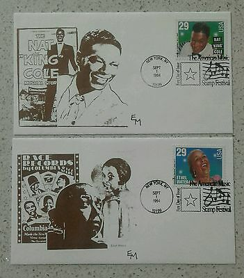 2 FDC Music: Nat King Cole, Ethel Waters