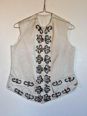 Unique Vintage Embellished Fancy Youth Costume Vest