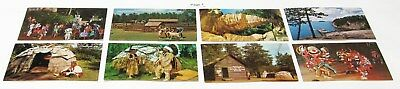 Vintage Chrome Postcard Lot ~ Wisconsin ~ 52 postcards ~ Free Shipping