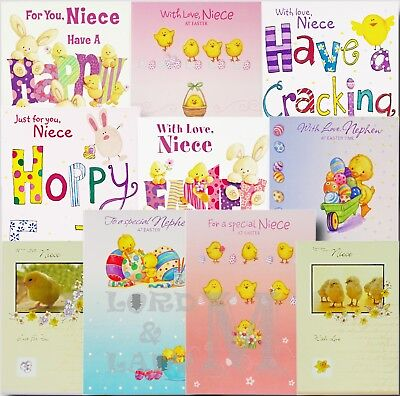 Niece / Nephew Easter Card - Various Designs Available