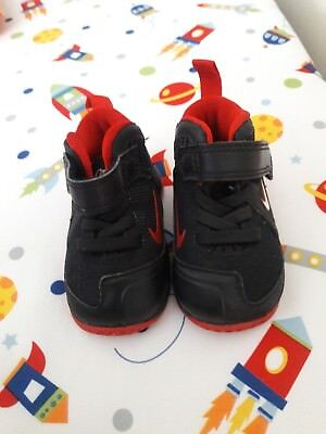 034b3f918e430 NIKE TODDLERS BOYS Lebron 9 TD Shoes Black red