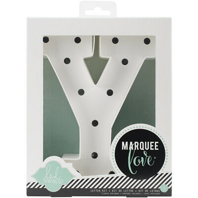 "American Crafts Heidi Swapp Marquee Love Letters, Numbers & Shapes 8.5""-Y"