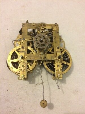 Welch Eastlake Parlor Clock Movement