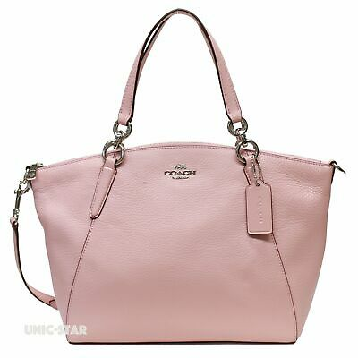 New Coach F28993 F26917 Leather Small Kelsey Satchel Shoulder Handbag Cherry Red