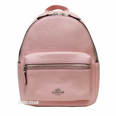 prevalent search for genuine factory outlet COACH F38263 PEBBLE Leather Mini Charlie Backpack