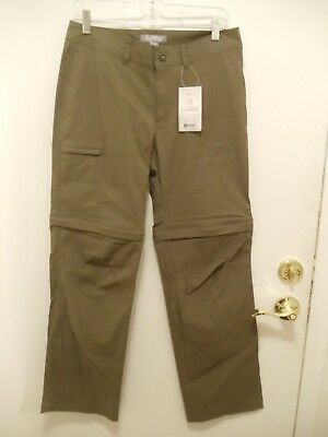 NWT Gander Mountain Trailhead  Guide Series Convertible Pants Olive  Size 8