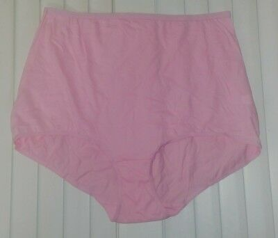 Pink Tricot Panties - Size 13 - 100% Cotton w/ Nylon Elastic - Double Gusset