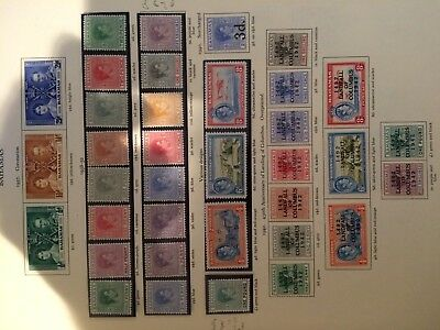 Bahamas stamps - King George VI Collection