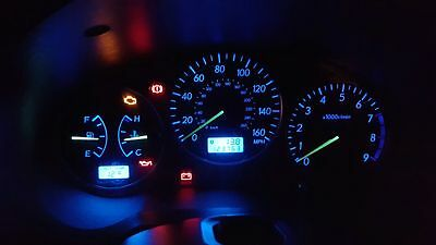 Subaru Impreza Bug Eye & Blob Eye, Blue LED Speedo & Heater Conversion