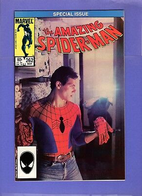 Amazing Spider-Man #262  --  Photo cover  -- --  NM-  cond.