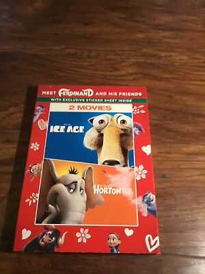 Ice Age And Horton Hears A Who Dvd Set