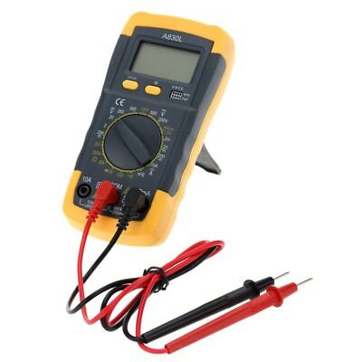 XL830L LCD Digital Multimeter ACDC 750/1000V Amp Volt Ohm Tester Meter Backlight