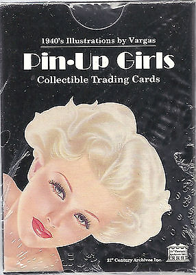 1996 PIN-UP Girls Trading Cards Vargas 1940's Illustrations SEALED PACK