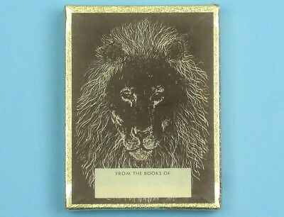 Vintage ANTIOCH LION BOOKPLATES Sealed Box of 50