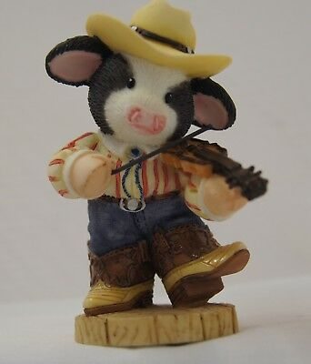 """Mary's Moo Moos #484865 """"You Put A Song In Moo Heart""""  COW FIDDLER"""