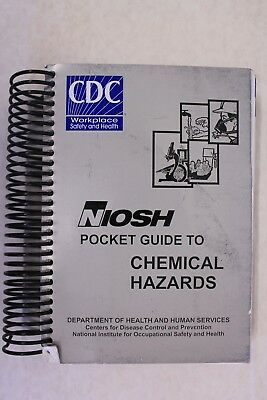 NIOSH Pocket Guide to Chemical Hazards - Sept 2007 3rd Edition