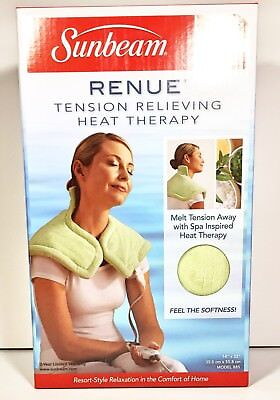 Sunbeam Renue Tension Relieving Heat Therapy Wrap Stress Relief Spa Relax 885