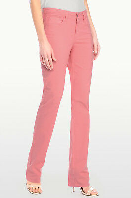 NWT NYDJ Not Your Daughters Jeans Marilyn STRAIGHT Winter Melon $124 Size 6P