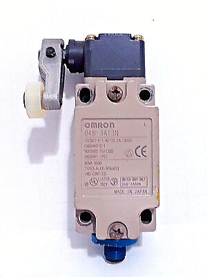 Omron D4B-3A13N Limit Switch And Roller Arm