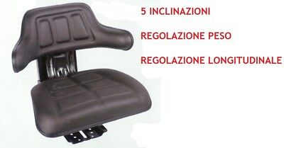 Rm20 Seat Universal For Tractor With Springing Fiat Landini Same Mf Etc