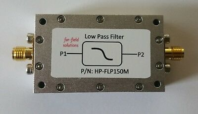 RF Low Pass Filter Fc 150MHz VHF 100W CW Power