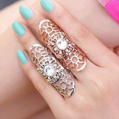 Rings Crystal Ring Ring Full Finger Claw Rings Fashion Jewelry For Women /Men
