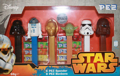 Star Wars PEZ Dispenser Limited Edition Release Box Set
