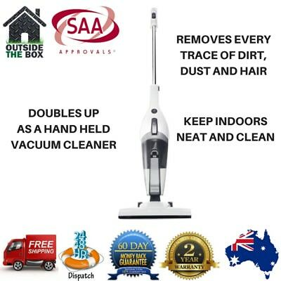 Vacuum Cleaner Bagless 2 in 1 Corded Hand/Stick HEPA Filter Upright Washable New
