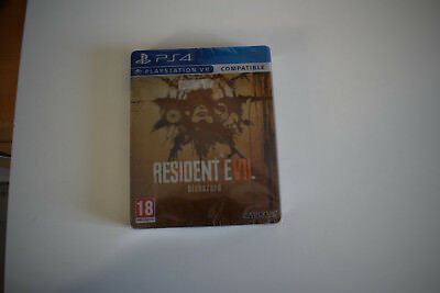 resident evil RE 7 biohazard edition steelbook steel book ps4 playstation 4 ps 4