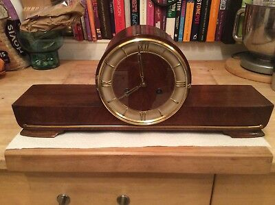 Hermle Art Deco Chime Clock.