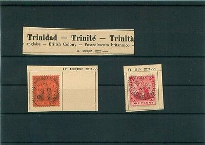 i3111 Trinidad, Briefmarken Lot Classic ~1896