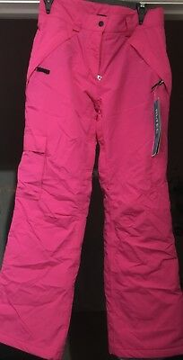Ladies size 10 pink ski pants never worn with tags