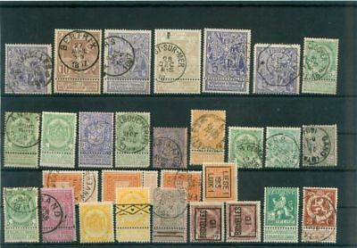 i4157 Belgien, Briefmarken Lot Classic