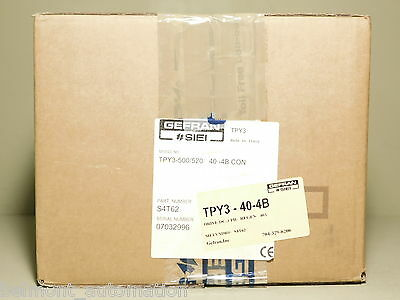 BRAND NEW - Gefran SIEI Try3-500/520 3-PH 40A Regenerative DC Drive TPY3-40-4B