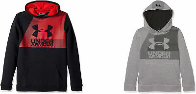 Under Armour Boys' Rival Fleece Hoodie, 2 Colors
