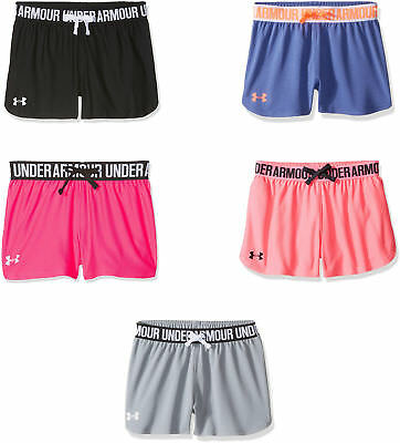Under Armour Girls' Play Up Shorts, 5 Colors