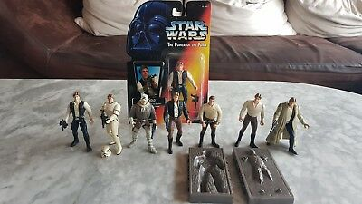 Star Wars Figuren Set Han Solo