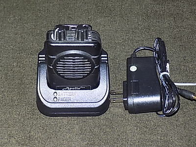 Apollo VP200 Pro v2.01 2 Channel UHF 460-470 MHz Pager with GP Charger
