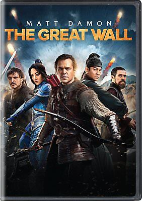 The Great Wall MATT DAMON IN A PONY TAIL USED VERY GOOD DVD