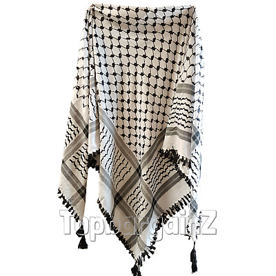 Unisex Shemagh Keffiyeh Mens Military Large Black Scarf Arab Army Neck Head Wrap