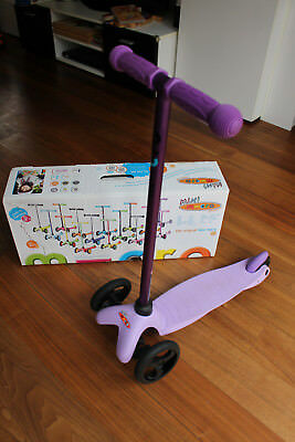 mini micro sporty scooter roller farbe candy lilac. Black Bedroom Furniture Sets. Home Design Ideas
