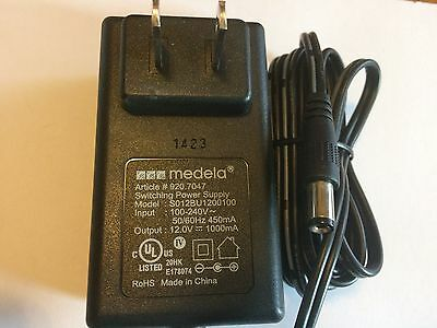 New-  Genuine Medela Freestyle Breast Pump Power Charger Adapter 12 Volt