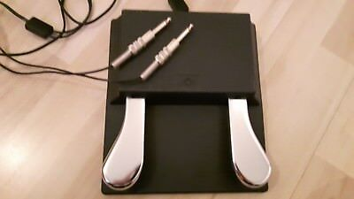 Doppel-Sustain-Pedal, 2-fach-Pedal, E-Piano, Synthesizer