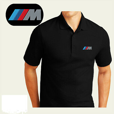 BMW Motors M Series Mens Embroidered Polo Sport Golf Shirt XS-6XL, LT-4XLT New