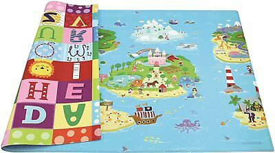 Baby Play Mat Toddler Children Floor Rug Carpet Kids Bedroom Decor Medium NEW