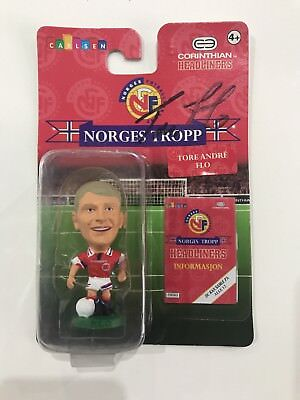 Corinthian Headliners - Tore Andre Flo - Norway. Signed