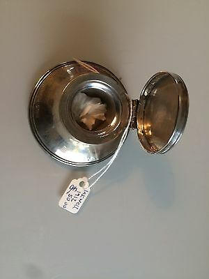 Silver Inkwell 1912