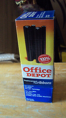 Office Depot Replacement Fax Ribbon For Use In Brother PC-301 Cartridge *