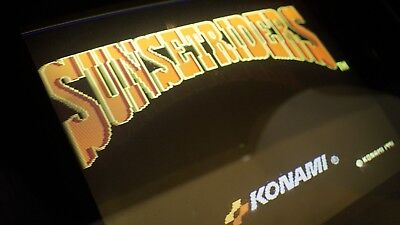 Sunset Riders- Arcade Jamma Pcb Board - tested - working