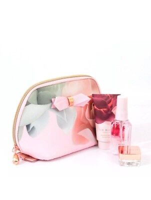 Ted Baker Beauty To Behold Cosmetic Purse Gift Set BNWT SALE